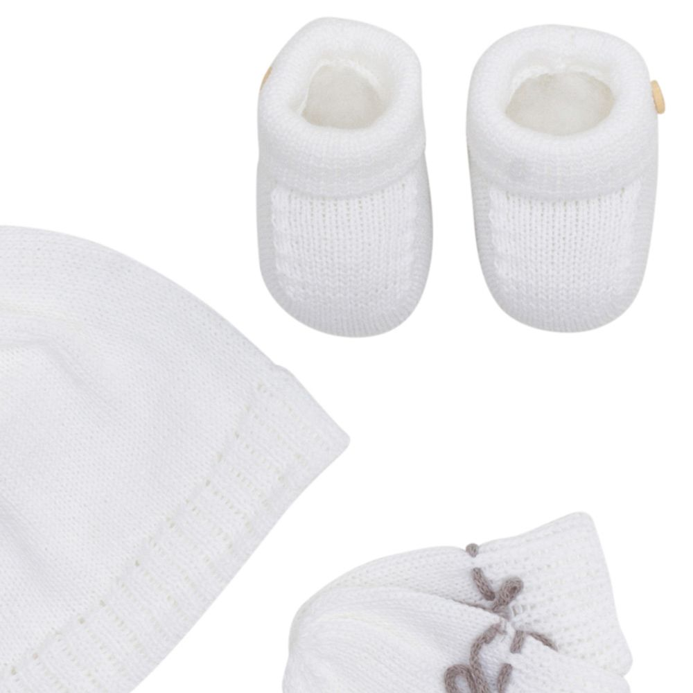 Kit-Touca-Luva-e-Sapato-com-Botao-Tricot---Branco-2