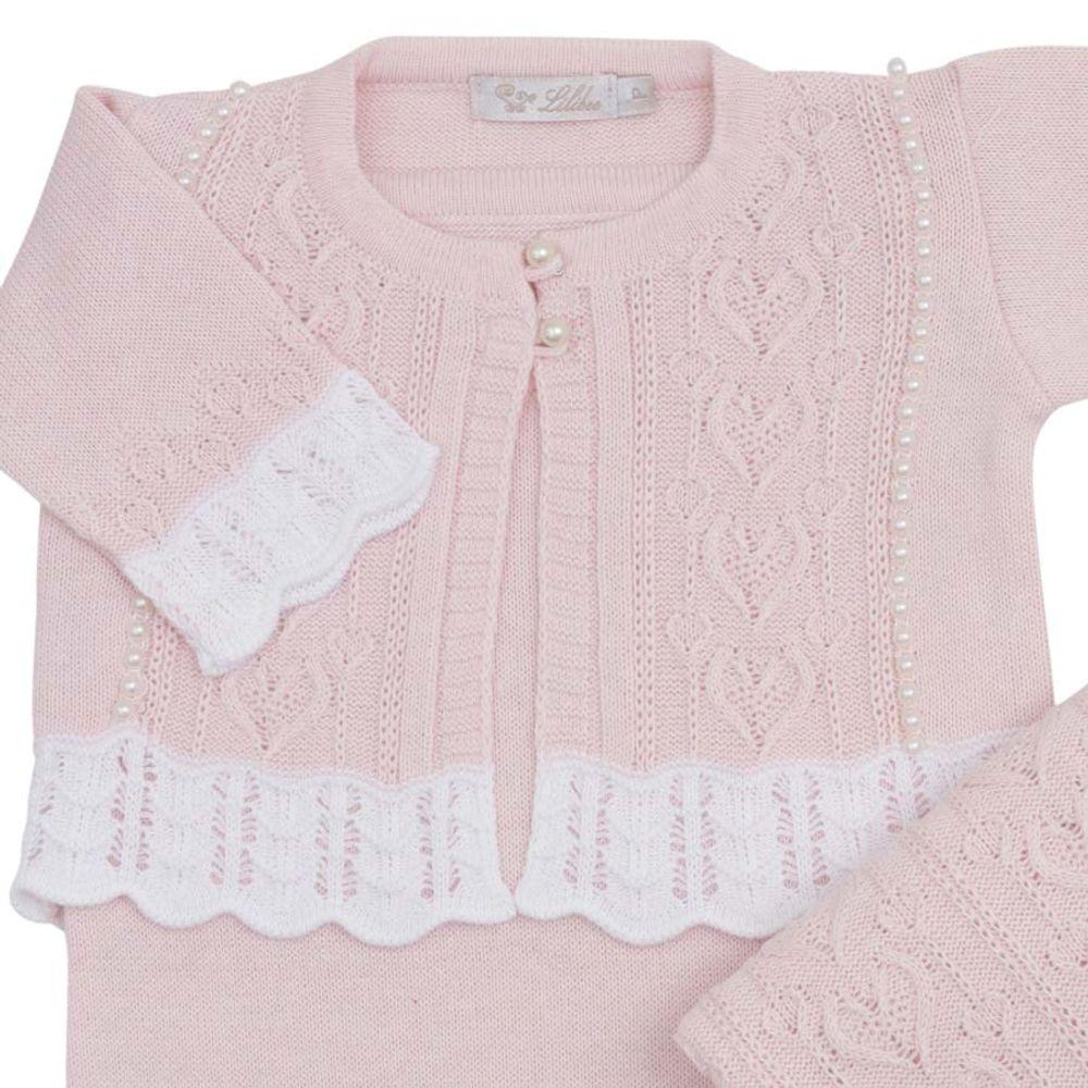 Saida-de-Maternidade-Tricot-Coracao-Rosa-Pastel---Kit-com-Manta-2