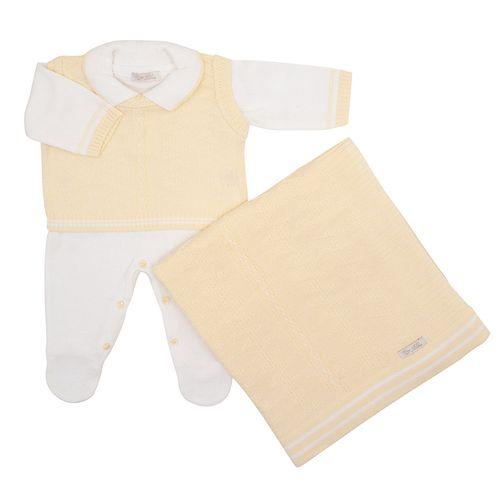 Saida-de-Maternidade-Tricot-Colete-Zig-Zag-Amarelo---Kit-com-Manta-2