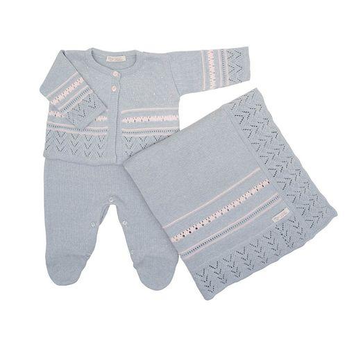 Saida-de-Maternidade-Tricot-Listra-Rendada-Azul-Dream---Kit-com-Manta-2