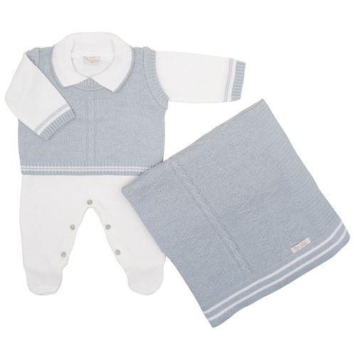 Saida-de-Maternidade-Tricot-Colete-Zig-Zag-Azul-Dream---Kit-com-Manta-2