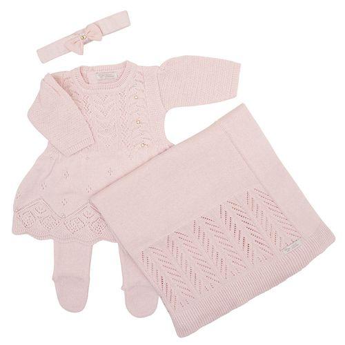 Saida-de-Maternidade-Tricot-Brilho-Bordado-Rosa-Pastel---Kit-com-Manta-2