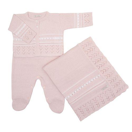 Saida-de-Maternidade-Tricot-Listra-Rendada-Rosa-Pastel---Kit-com-Manta-2