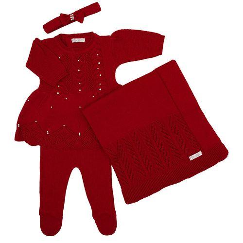 Saida-de-Maternidade-Tricot-Brilho-Bordado-Vermelho---Kit-com-Manta-2