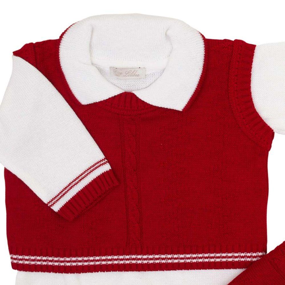 Saida-de-Maternidade-Tricot-Colete-Zig-Zag-Vermelho---Kit-com-Manta-3