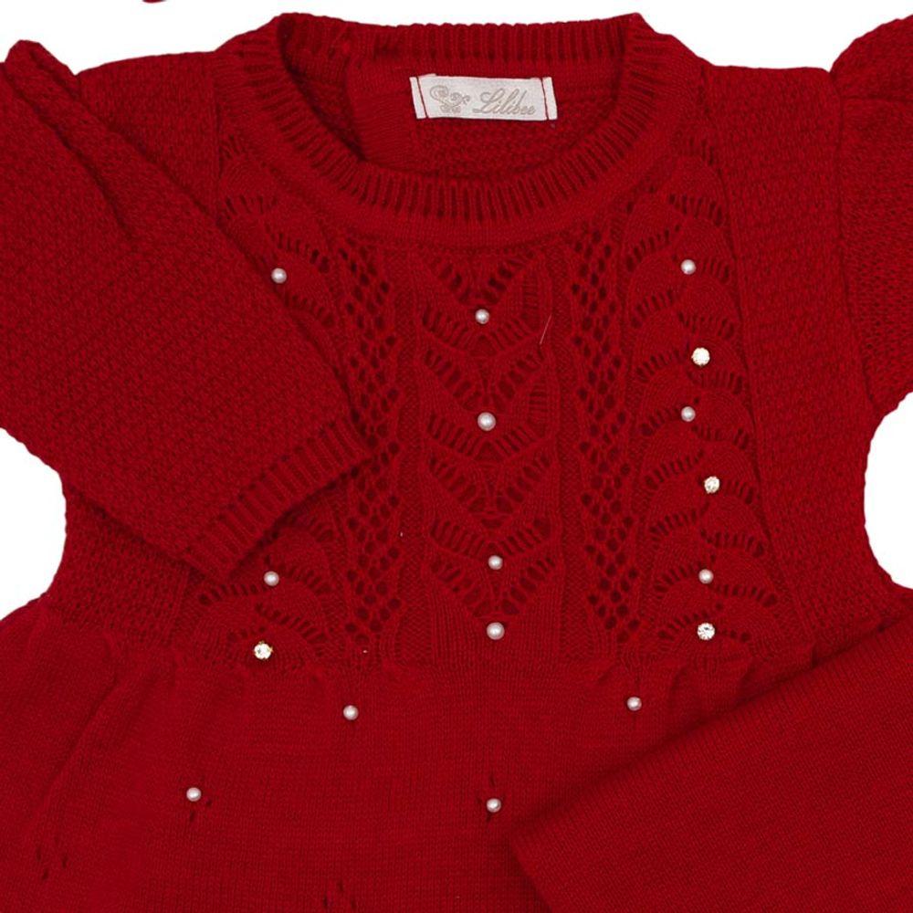 Saida-de-Maternidade-Tricot-Brilho-Bordado-Vermelho---Kit-com-Manta-3