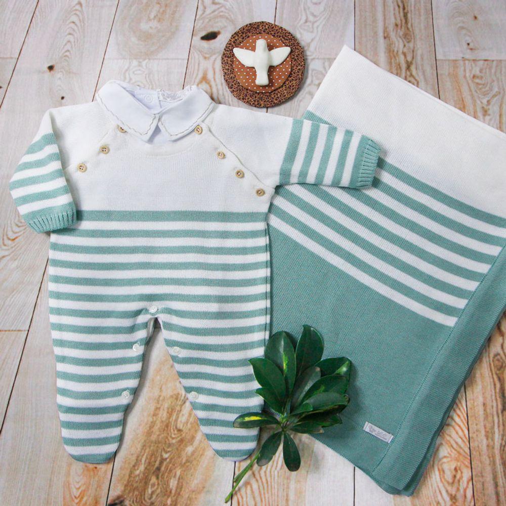 Saida-de-Maternidade-Tricot-Listra-Verde---Kit-com-Manta-3