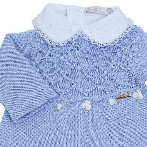 Macacao-de-Bebe-Losangos-com-Perolas-e-Rococo-Azul-Claro---Saida-de-Maternidade-01