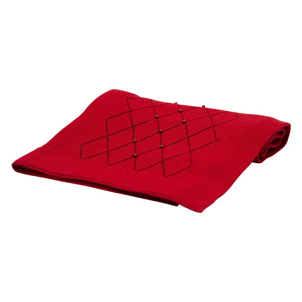 Manta-em-Tricot-Vermelho-com-Losangos-e-Perolas-04