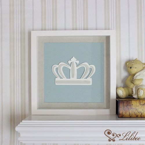 Quadro Coroa Nobile Malva
