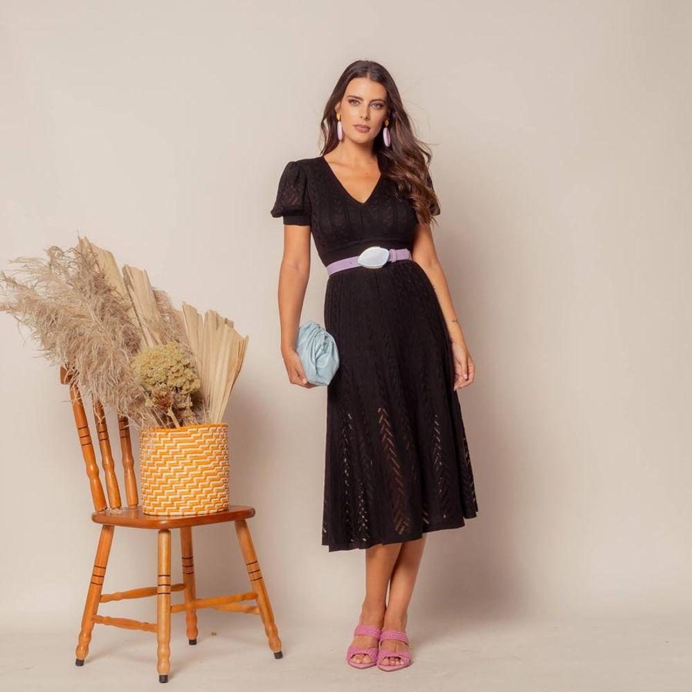 Vestido-Tricot-Transpasse-Escama-Preto-2