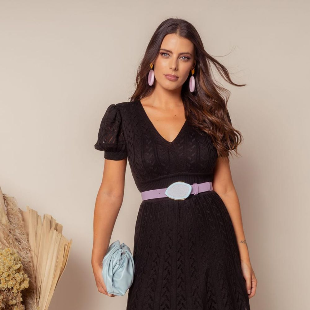 Vestido-Tricot-Transpasse-Escama-Preto-3