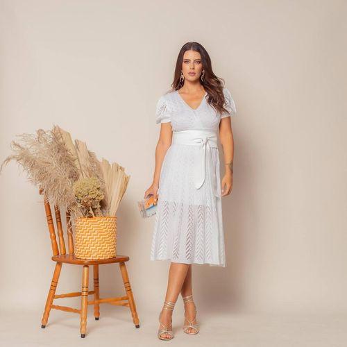 Vestido-Tricot-Transpasse-Escama-Branco-1