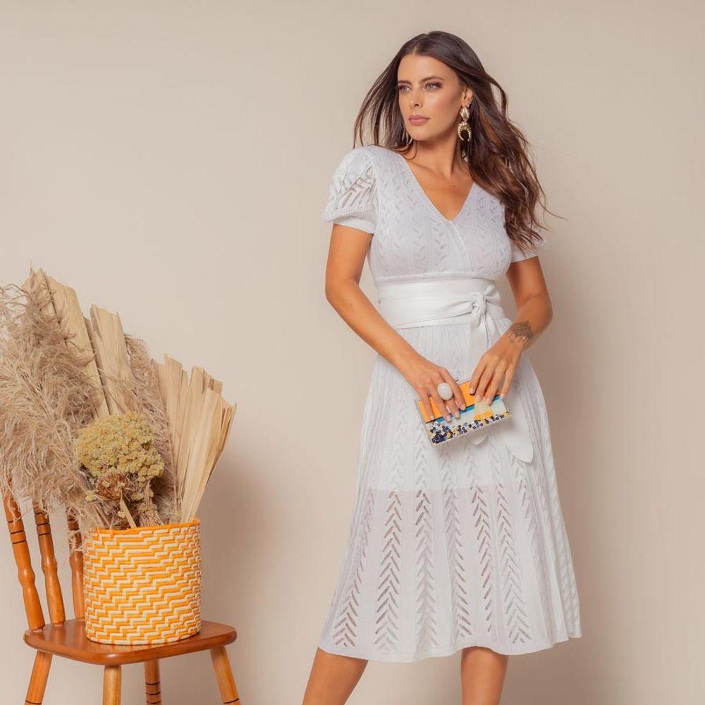 Vestido-Tricot-Transpasse-Escama-Branco-3