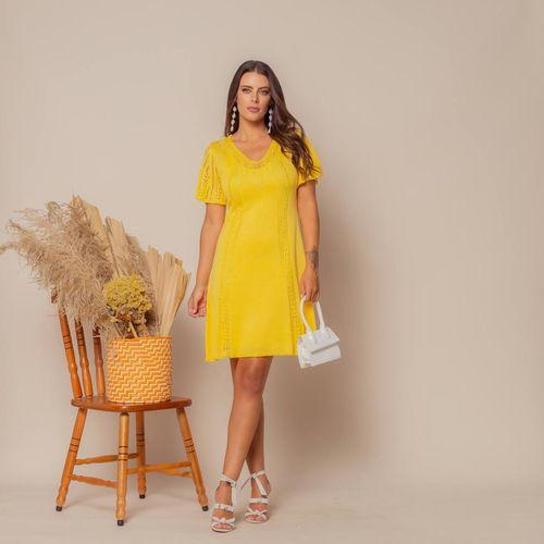 Vestido-Tricot-Curto-Soltinho-Amarelo-2