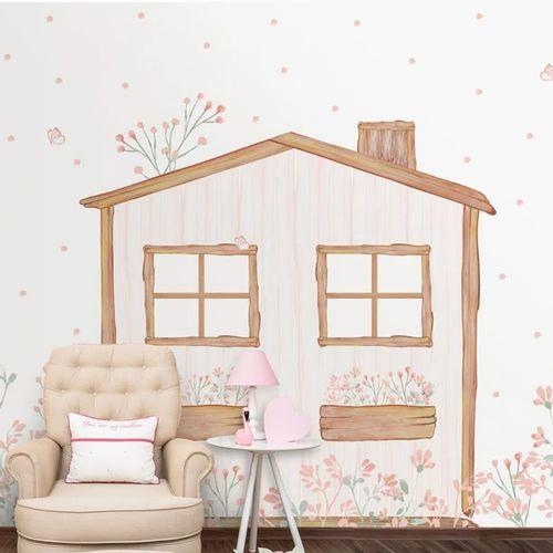 Mural-Casinha-Classic-Rosa-Lichia-1