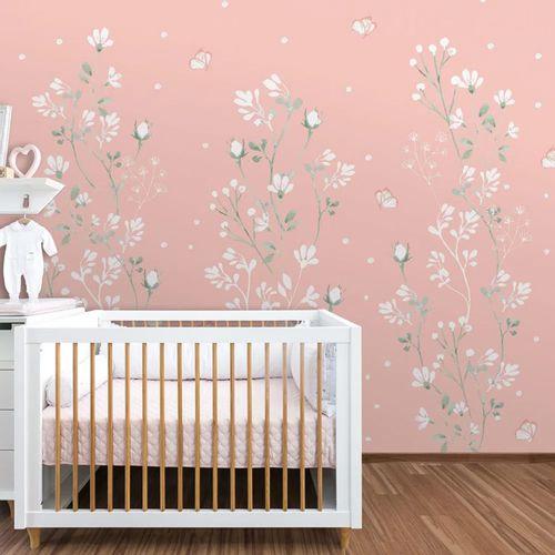 Mural-Floral-Classic-Rosa-Lichia-1
