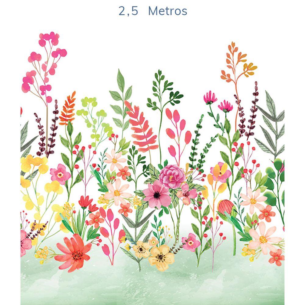 Mural-Flores-Candy-Verde-Folha-2