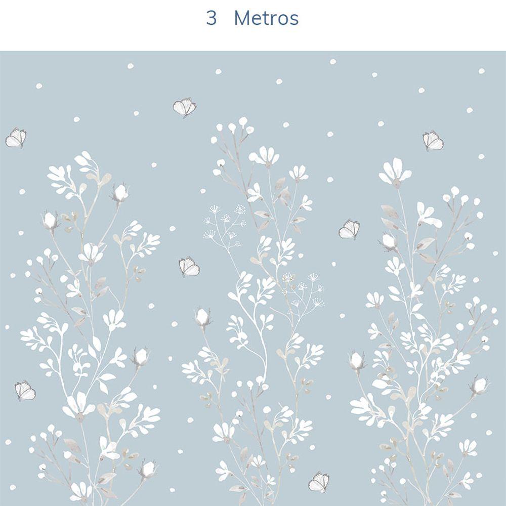 Mural-Floral-Classic-Azul-Claro-3