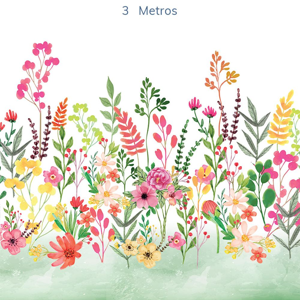 Mural-Flores-Candy-Verde-Folha-3