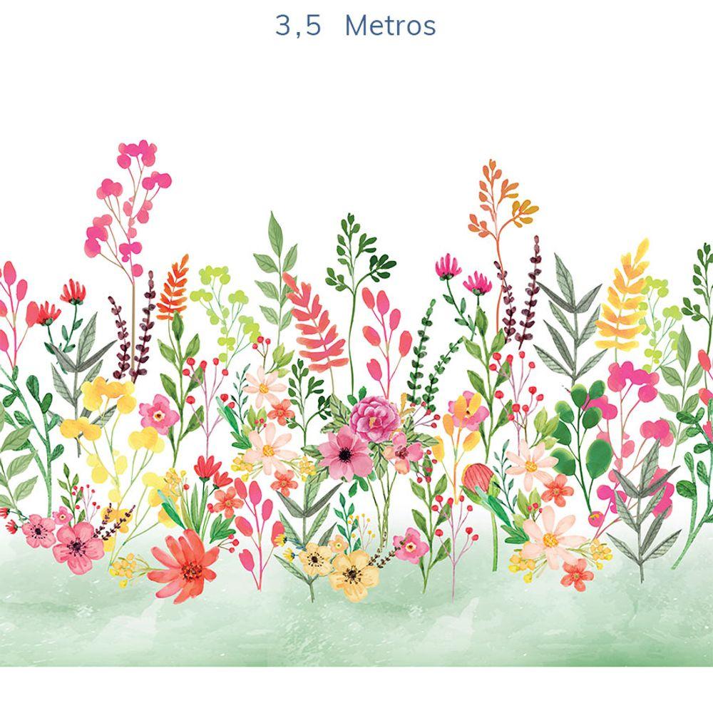 Mural-Flores-Candy-Verde-Folha-4