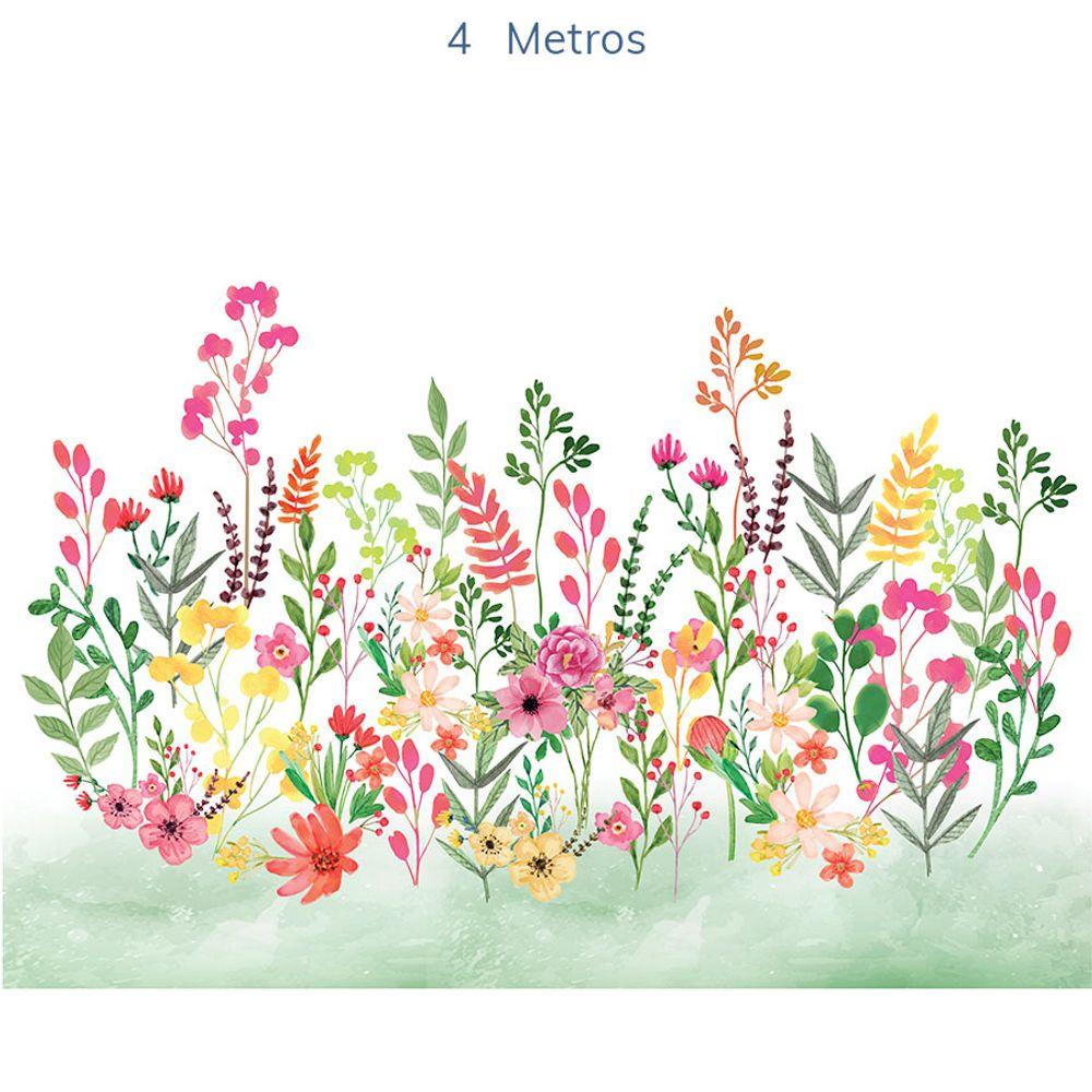 Mural-Flores-Candy-Verde-Folha-5