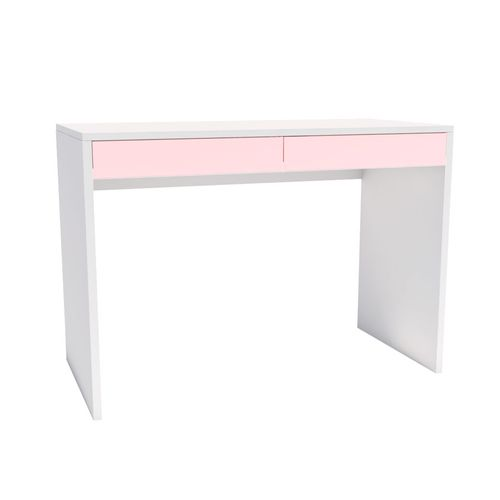 Escrivaninha-Up-Branca-2-Gavetas-Rosa-1