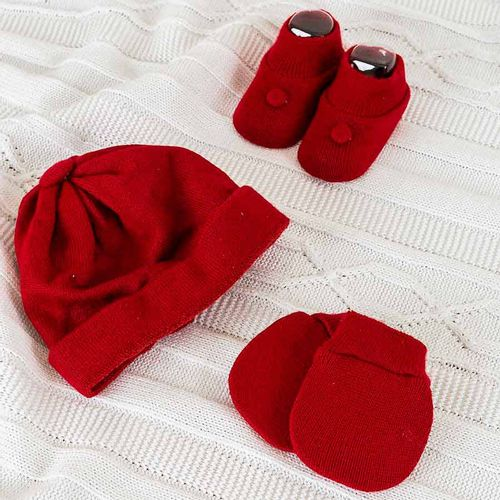 Kit-Touca-Luva-e-Sapato-Liso-Vermelho-2
