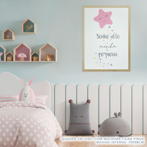 Quadro-Infantil-Estrela-Sonhe-Alto-Minha-Pequena-Rosa-2