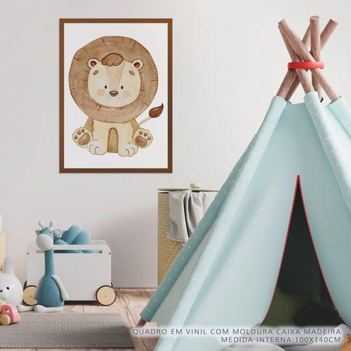 Quadro-Infantil-Selva-Leao-Color-2