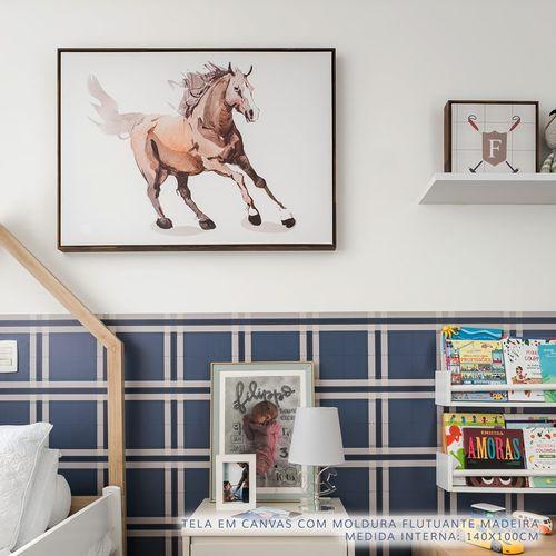 Quadro-Infantil-Cavalo-Bege-2
